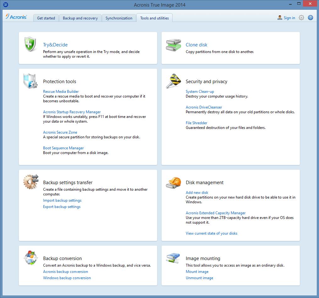 تنظیمات و قابلیتهای کامل یک نرمافزار خوب بکآپ
