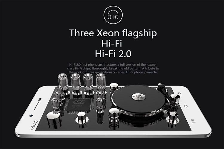 باریکترین گوشی دنیا Vivo X5 با بالاترین کیفیت صدای هدفون