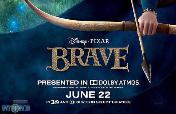 انیمیشن Brave، اولین کاربرد حرفهای Dolby Atmos