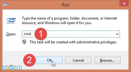 اجرای کامند پرامپت در ویندوز 7