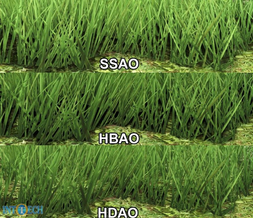 مقایسهی کیفیت پراکنش محیطی نور به روش HBAO و HDAO