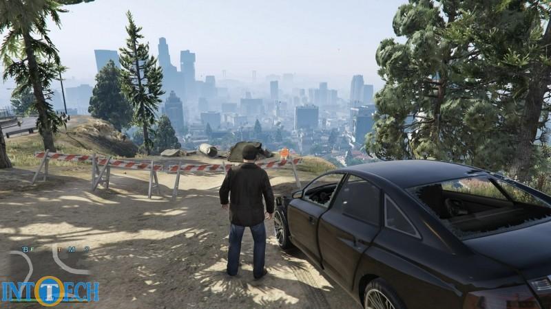 GTA یک بازی با محیط باز و دوربین سوم شخص است