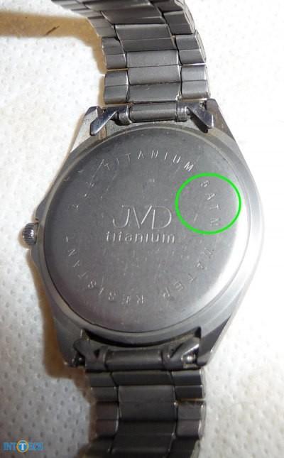 ساعت ضدآبی با درجهی مقاومت 5ATM