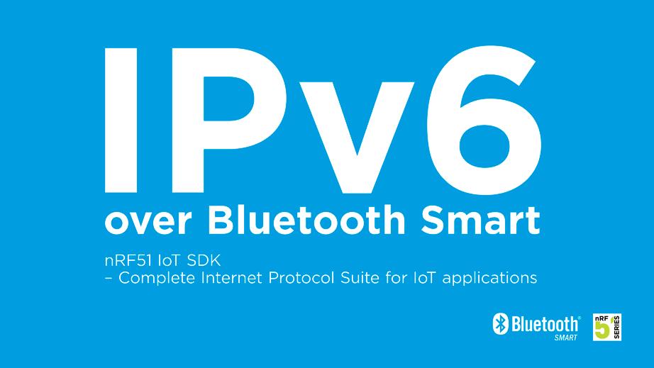 پشتیبانی از IPv6 در بلوتوث اسمارت