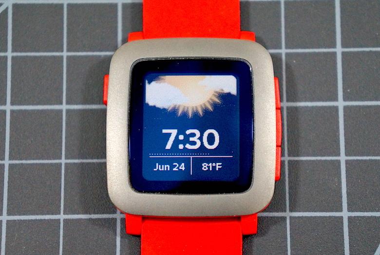 ساعت هوشمند Pebble Time